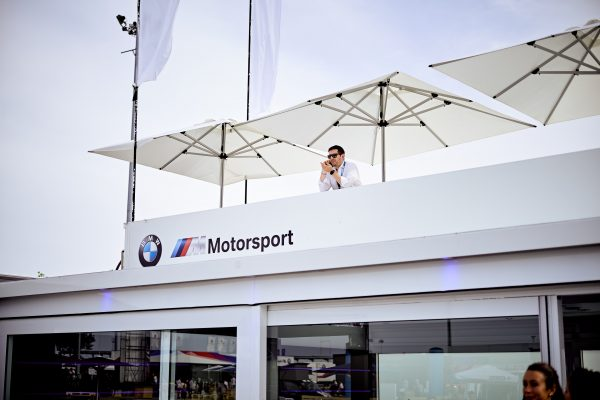 BMW Mobile Showroom roof detailing